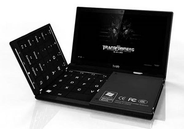 [ENC010] Portátil con teclado plegable