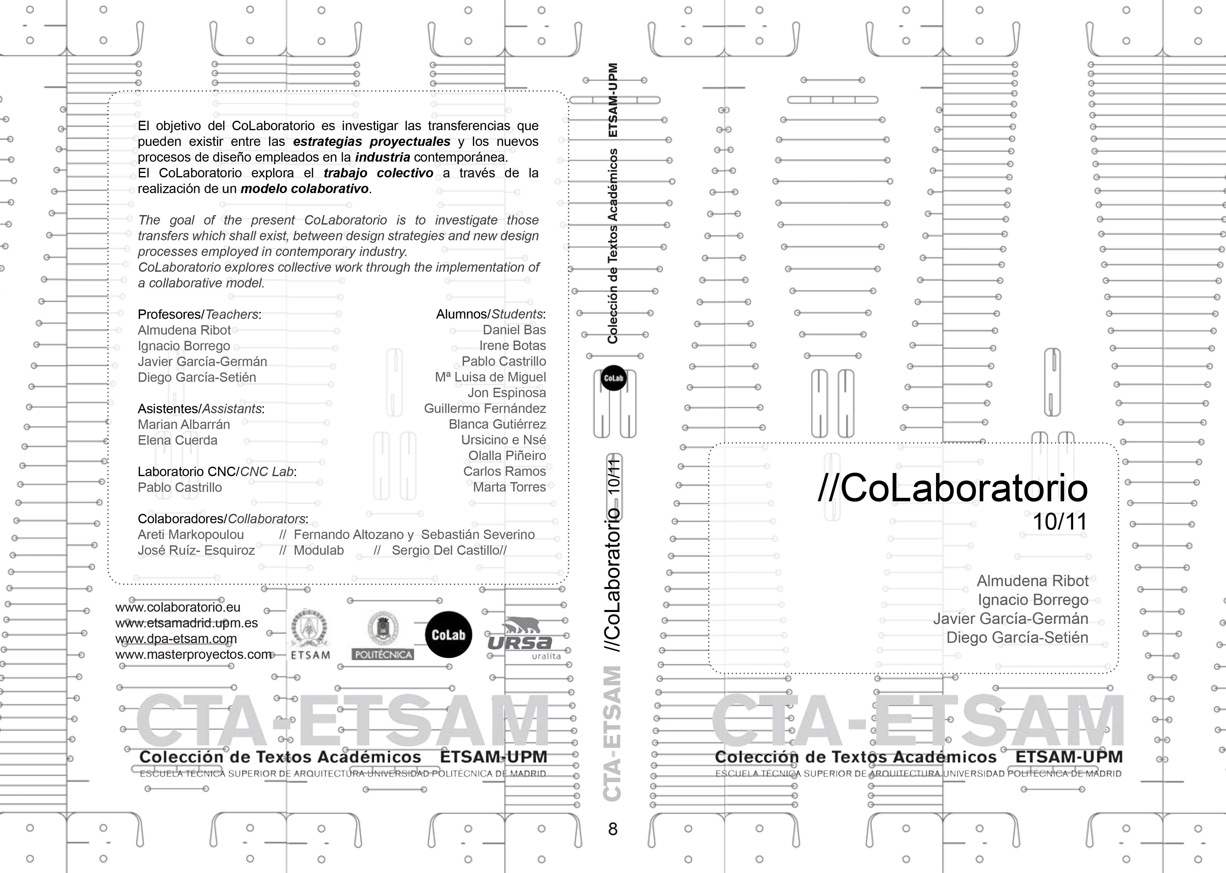 //CoLaboratorio 10/11 (CTA-ETSAM)