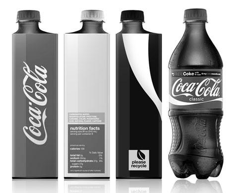[ENC065] Nuevo diseño icónico de las botellas de Coca-Cola