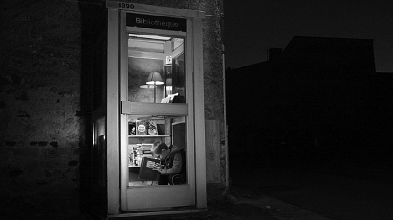 [ENC043] ¿Quien dijo que una cabina no podía convertirse en una biblioteca?